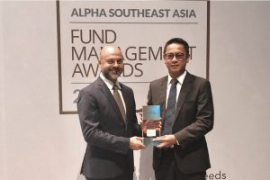 Mandiri Investasi Raih Best Fund with The Optimal Sharpe Ratio dari Alpha Southeast Asia
