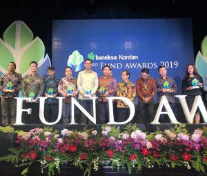 Mandiri Manajemen Investasi raih 3 penghargaan di Bareksa-Kontan Fund Awards 2019